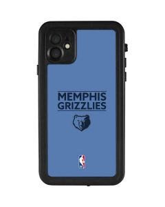 Memphis Grizzlies Standard - Light Blue iPhone 11 Waterproof Case