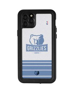 Memphis Grizzlies Static iPhone 11 Pro Max Waterproof Case
