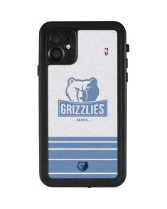 Memphis Grizzlies Static iPhone 11 Waterproof Case
