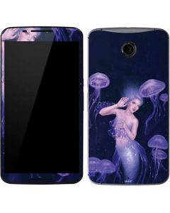 Mermaid and Jellyfish Google Nexus 6 Skin
