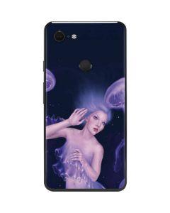Mermaid and Jellyfish Google Pixel 3 XL Skin