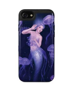 Mermaid and Jellyfish iPhone SE Wallet Case
