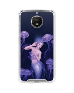 Mermaid and Jellyfish Moto G5S Plus Clear Case