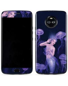 Mermaid and Jellyfish Moto X4 Skin