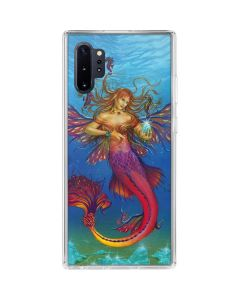 Mermaid Water Fairy Galaxy Note 10 Plus Clear Case