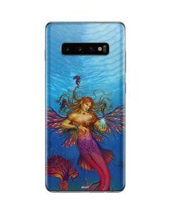 Mermaid Water Fairy Galaxy S10 Plus Skin