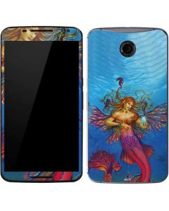 Mermaid Water Fairy Google Nexus 6 Skin