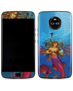 Mermaid Water Fairy Moto X4 Skin