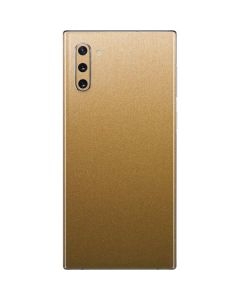 Metallic Gold Texture Galaxy Note 10 Skin