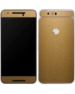 Metallic Gold Texture Google Nexus 6P Skin