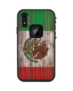 Mexican Flag Dark Wood LifeProof Fre iPhone Skin