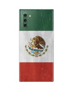 Mexico Flag Distressed Galaxy Note 10 Skin