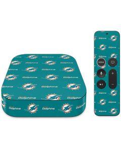 Miami Dolphins Blitz Series Apple TV Skin