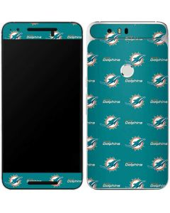 Miami Dolphins Blitz Series Google Nexus 6P Skin