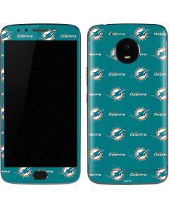 Miami Dolphins Blitz Series Moto E4 Plus Skin