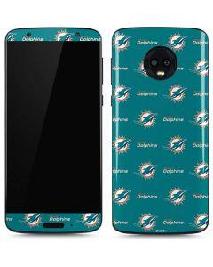 Miami Dolphins Blitz Series Moto G6 Skin