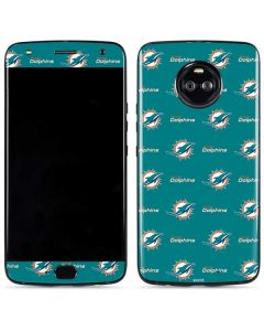 Miami Dolphins Blitz Series Moto X4 Skin
