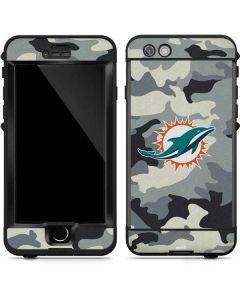Miami Dolphins Camo LifeProof Nuud iPhone Skin