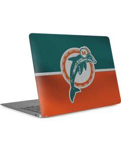 Miami Dolphins Vintage Apple MacBook Air Skin