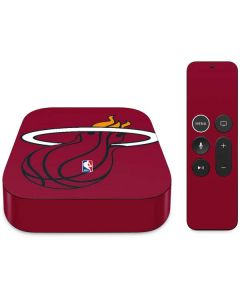Miami Heat Large Logo Apple TV Skin
