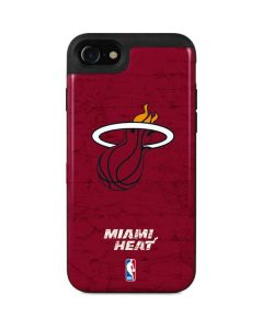 Miami Heat Red Primary Logo iPhone SE Wallet Case