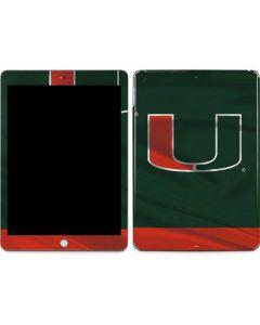 Miami Hurricanes Flag Apple iPad Skin