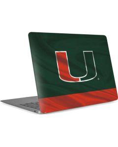 Miami Hurricanes Flag Apple MacBook Air Skin