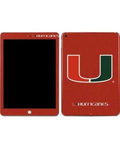 Miami Hurricanes Jersey Apple iPad Skin