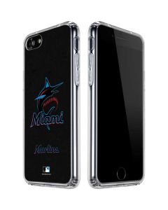 Miami Marlins Alternate Distressed iPhone SE Clear Case