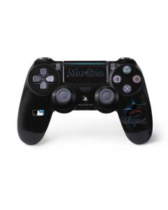 Miami Marlins Alternate Distressed PS4 Pro/Slim Controller Skin