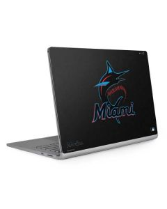 Miami Marlins Alternate Distressed Surface Book 2 13.5in Skin
