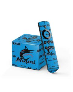 Miami Marlins Blast Fire TV Cube Skin