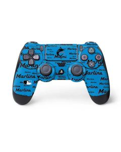 Miami Marlins Blast PS4 Pro/Slim Controller Skin