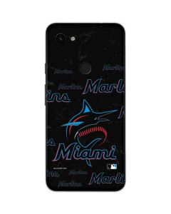 Miami Marlins Cap Logo Blast Google Pixel 3a Skin