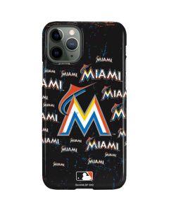 Miami Marlins Cap Logo Blast iPhone 11 Pro Lite Case