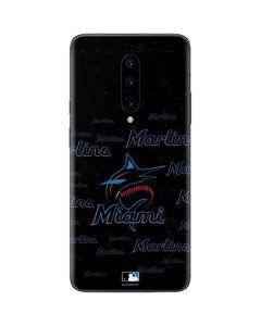 Miami Marlins Cap Logo Blast OnePlus 7 Pro Skin