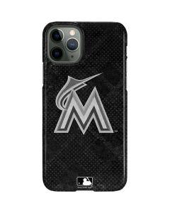 Miami Marlins Dark Wash iPhone 11 Pro Lite Case