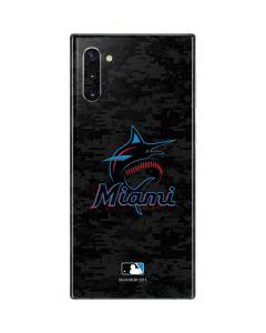 Miami Marlins Digi Camo Galaxy Note 10 Skin