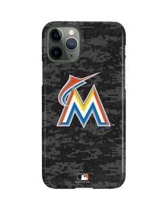 Miami Marlins Digi Camo iPhone 11 Pro Lite Case