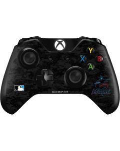 Miami Marlins Digi Camo Xbox One Controller Skin
