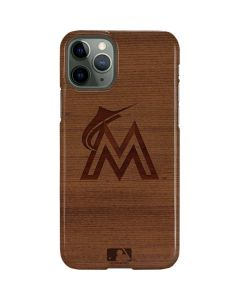 Miami Marlins Engraved iPhone 11 Pro Lite Case
