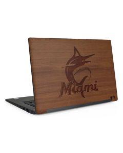 Miami Marlins Engraved Dell Latitude Skin