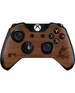 Miami Marlins Engraved Xbox One Controller Skin
