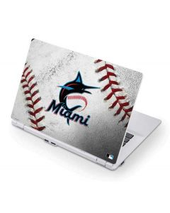 Miami Marlins Game Ball Acer Chromebook Skin