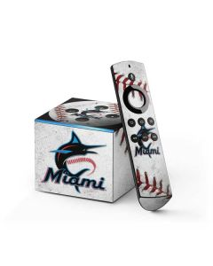 Miami Marlins Game Ball Fire TV Cube Skin