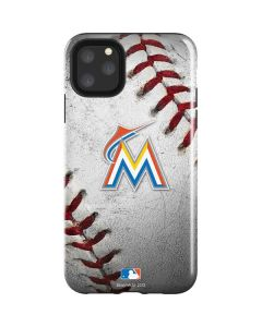 Miami Marlins Game Ball iPhone 11 Pro Max Impact Case
