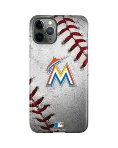 Miami Marlins Game Ball iPhone 11 Pro Lite Case