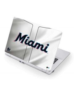 Miami Marlins Home Jersey Acer Chromebook Skin