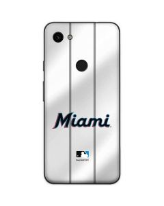 Miami Marlins Home Jersey Google Pixel 3a Skin