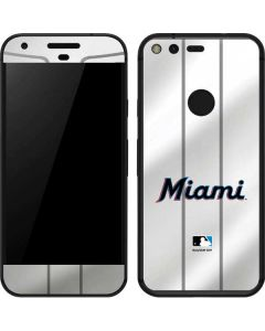 Miami Marlins Home Jersey Google Pixel Skin